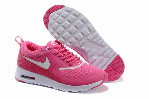 air max thea femme semelle rose