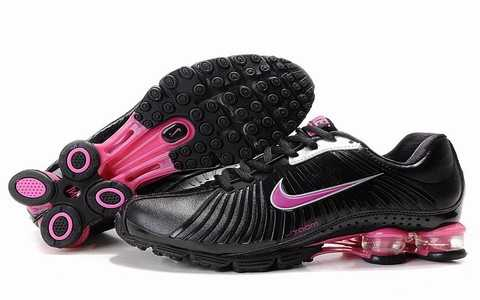 Nike Shox Nz Eu Noir Pas Cher