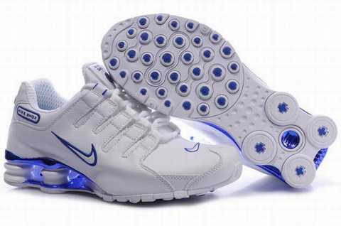 basket nike shox pas cher homme
