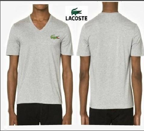 polo Lacoste Orange Homme Tee Shirt Col V WEDYH29I